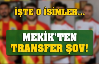MEKİK'TEN TRANSFER ŞOV!