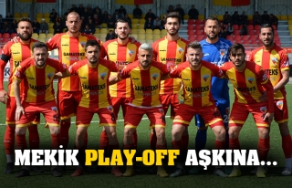 Mekik Play-Off aşkına…