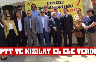 PTT VE KIZILAY EL ELE VERDİ