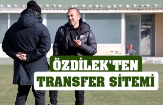 Özdilek'ten transfer sitemi