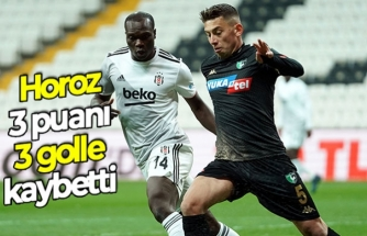 Horoz, 3 puanı 3 golle kaybetti