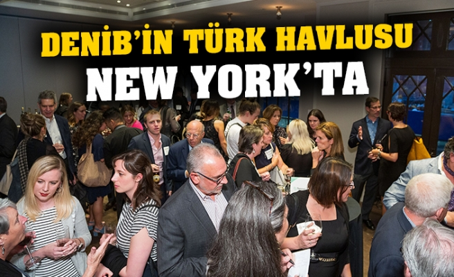 DENİB'in Türk havlusu, New York'ta